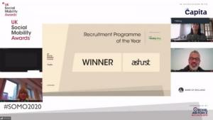 Ashurst winning the 2020 award