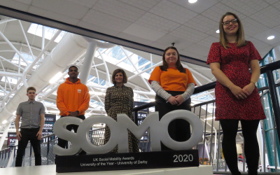 """""""Social mobility is at the heart of the University's strategy"""" – Thoughts from the SOMO 2020 University Winners, University of Derby"""